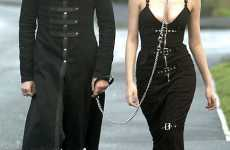 Human Leash - Goth Fashion Gets Couple Kicked Off Bus