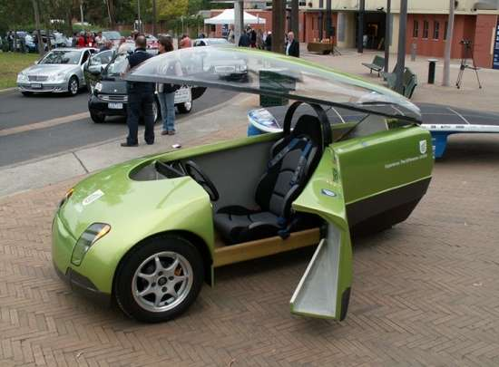 Three-Wheeled Green Machine
