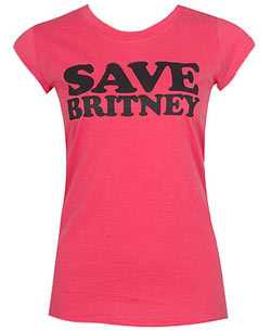 Supportive Fan Fashion - Save Britney T-Shirt