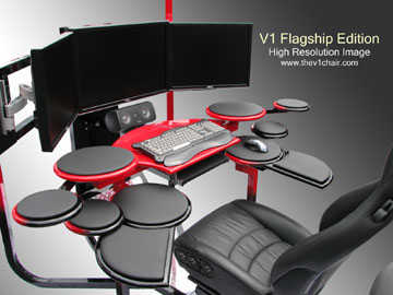 Futuristic Custom Desk