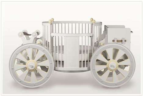 Baby Fairy Tale - $15,000 Carriage Crib