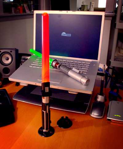 Lightsaber Desk Lamp - The Force is Strong with Your Desk