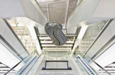 Contemporary Art In Airports - Troika's Digital Cloud Sculpture