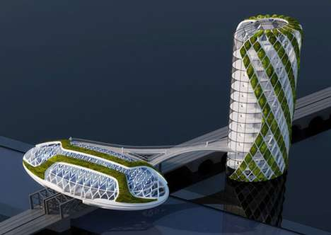 Anti-Smog Architecture in Paris - Vincent Callebaut's Green Innovation Centre