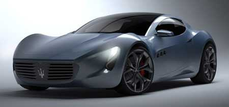 Maserati Concept Designed by Students