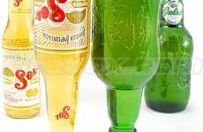 Beer Bottle Goblets - Recycled Sol, Corona & Grolsch