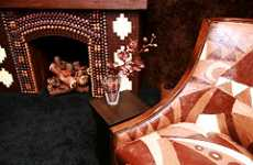 Room Made Entirely from Chocolate