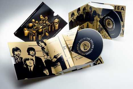 Rolling Stones Paper Board CD Case - Eco-Friendly JakeBox