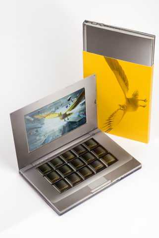 Chocolate Laptop (Part II) - Swiss Post Marketing Campaign