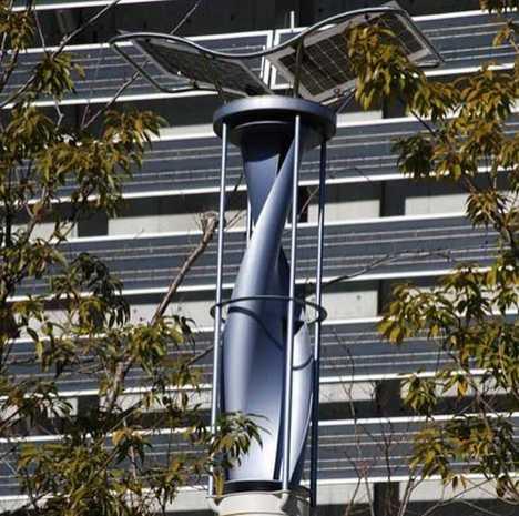 Dual Renewable Energies in the City