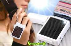 Solar Powered Charms - StrapYa for Mobile Phones