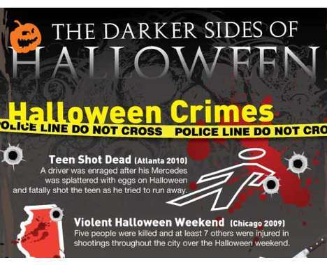 11 Haunting Halloween Infographics