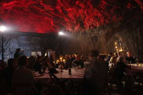 Creepy Cavernous Lodging  - The Sala Silvermine is the Deepest Subterranean Hotel in the World