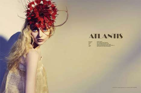 Mythical Millinery Editorials