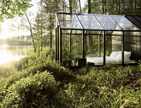 Habitable Glass Greenhouses