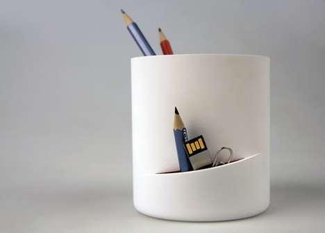 Slit Pencil Holders