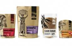 Socially Conscious Packaging - Level Ground Trading Re-Sealable Bags Take You Back to the Fields