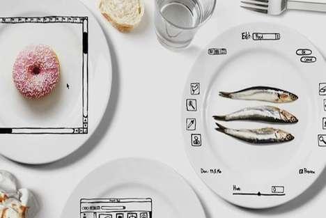 Digitally Manipulated Dishes