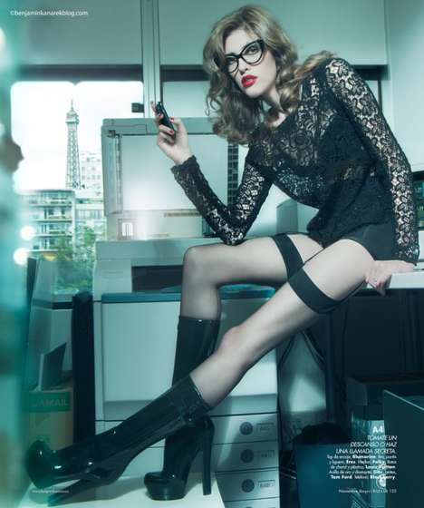 Provocative Office Pictorials
