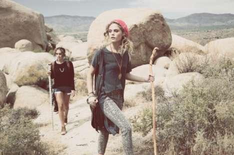 Bohemian Hiking Lookbooks