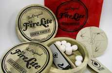 Wilderness Bonfire Kits - FireLite Brings Instant Heat into the Wild