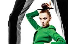 Chopsticked Chignon Shoots