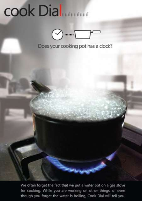 Time-Tracking Kitchenware