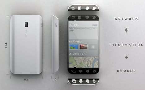 Curvy Smartphone Redesigns