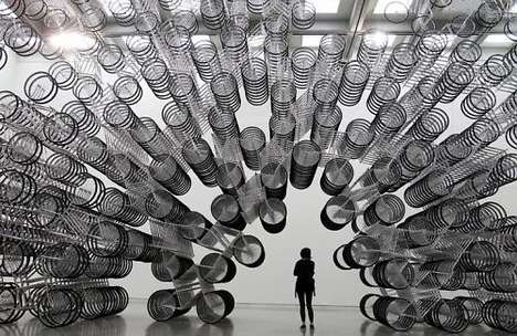 Surreal Cycle Sculptures
