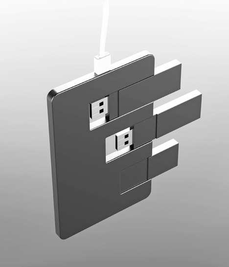 Triple Memory USBs