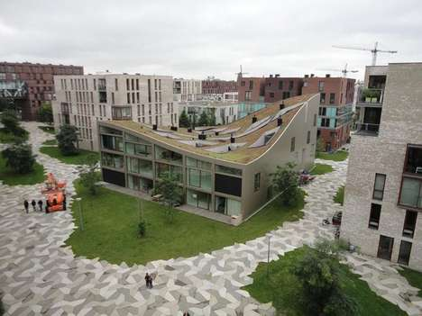 Sloping Rooftop Structures