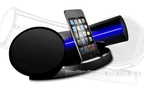 Tubular Smartphone Boomboxes