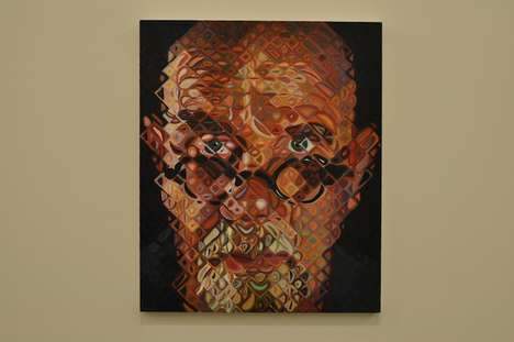 Pixelated Kaleidoscopic Portraits