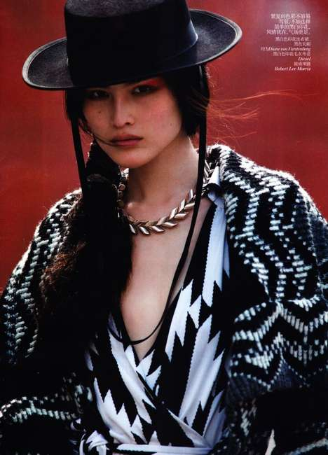 Western-Infused Editorials