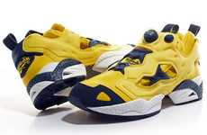 Collegiate Colorway Kicks - The Reebok Insta Pump Fury Gets Schooled