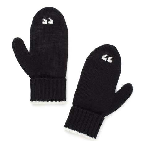 Witty Punctuation Gloves