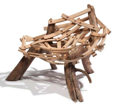 Piled Twig Furniture