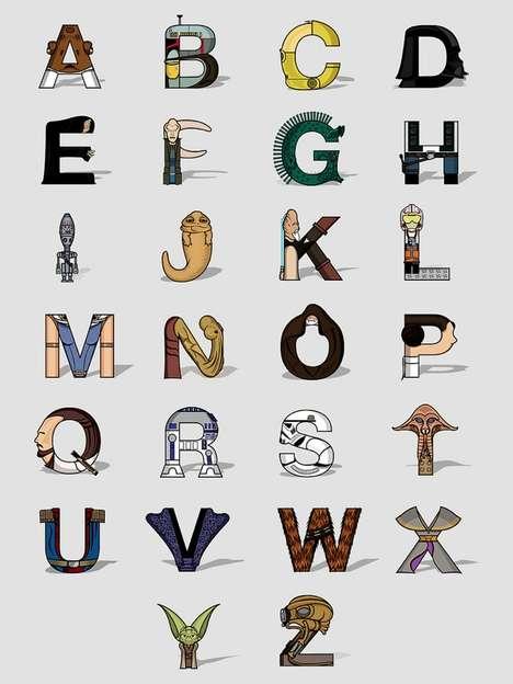 Genius Galactic Typeface