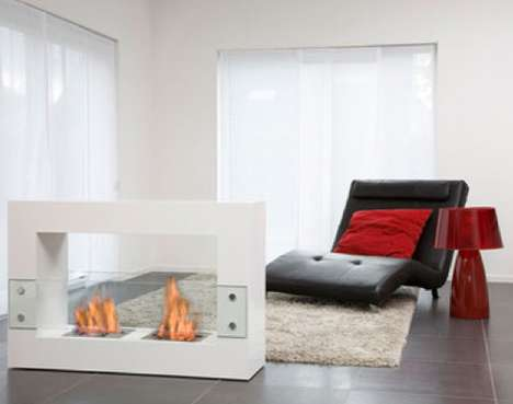 Plush Portable Fireplaces