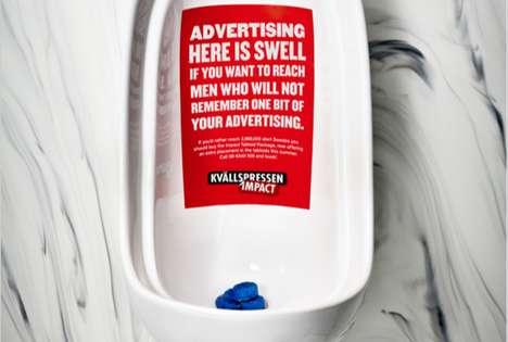 Trash-Talking Ambient Advertising