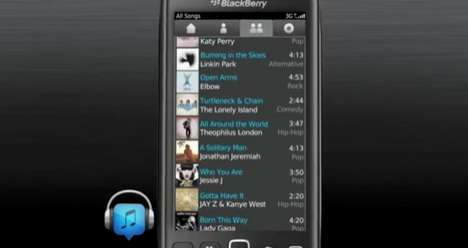 Friend-Enabled Tune Finders - BBM Music Allows Sharing and Discovery Within Your Network