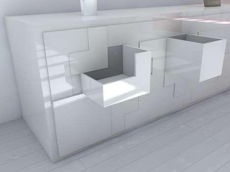 Puzzling Gamer Furniture