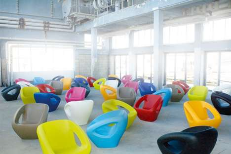 Sleek Color-Popped Chairs
