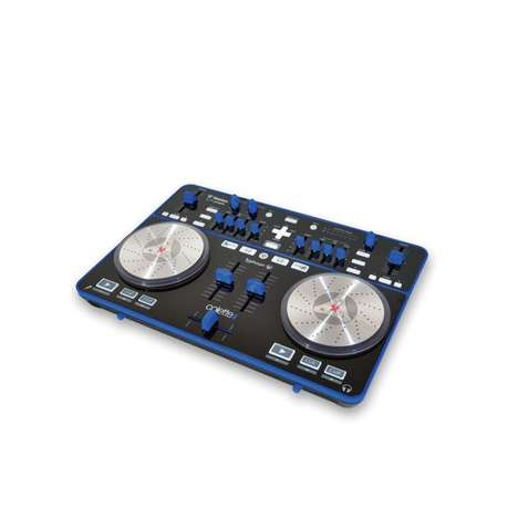 Slick Hip-Hop Mixers - Scratch & Mix with the Travel-Friendly Vestax Typhoon