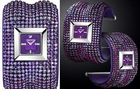 Precious Purple Timepieces