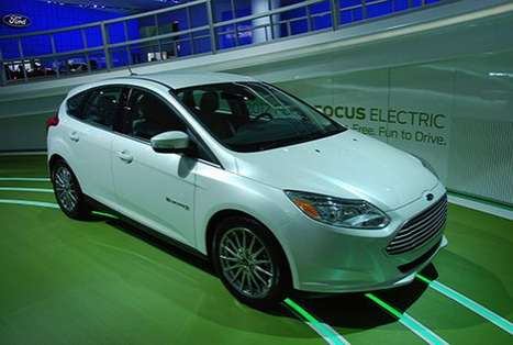 Mid-Market Eco Cars - The 2012 Focus Electric is Ford's Attempt at Going Green Permanently