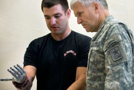 Laser-Powered Prosthetics - The Pentagon's Fiber Optic Arm is Being Fitted to Amputated Veterans