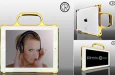 Luxurious Lightweight Cases - Crystal Rocked's iPad 2 Bumper Protects Edges in Style