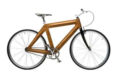 Urban Lumber Trikes - The Giuliano Bicycle is Elegantly Inspired by Nature