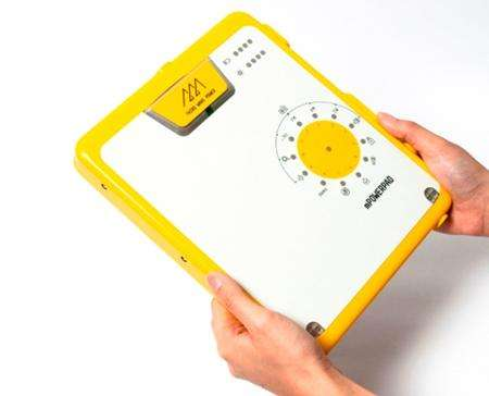 Sun-Powered Camping Tools - The 'mPowerpad' Ensures Your Batteries Stay Charged